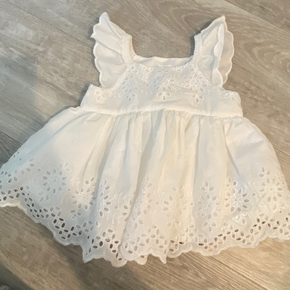 Baby Gap white dress 0-3 months